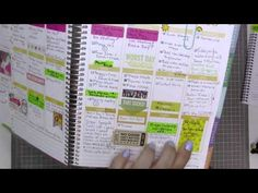 YouTube: My Erin Condren Life Planner / How I'm using it #fabfans #ecbloggers #eclifeplanner