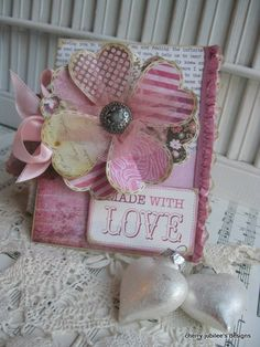 Love, love, LOVE this heart flower!  Have to do this soon!  Bless you, Cherry Nelson!