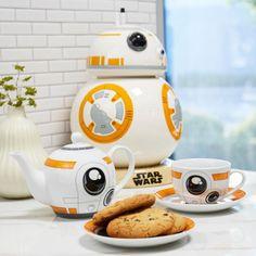 BB-8, then BB-drank | Star Wars BB-8 Tea Set and Cookie Jar