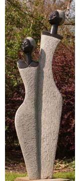 Modern Stone Sculpture | Guruve unique contemporary african art