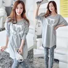 Like and Share if you want this  Lady Autumn Summer style Lovely dog grey big size Cotton maternity clothes Pajama Set for pregnant maternity sleepwear     Tag a friend who would love this!     FREE Shipping Worldwide     Buy one here---> http://oneclickmarket.co.uk/products/lady-autumn-summer-style-lovely-dog-grey-big-size-cotton-maternity-clothes-pajama-set-for-pregnant-maternity-sleepwear/