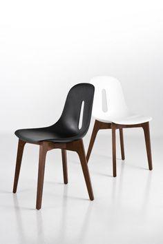 Gotham W side chairs | Designer: Dario Delpin