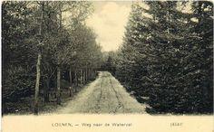 Weg naar de waterval 1910