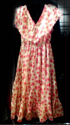 The floral style dress #wardrobeshop