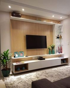 Top 10 Modern House TV Unit Interior Designs Living Room Tv Unit, Living Room Entertainment Center, Living Room Cabinets, Small Living Rooms, Tv Wall Ideas Living Room, Living Room Modern, Living Room Designs, Tv Wand Design, Tv Wanddekor