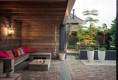 #2016 Indoor Outdoor Living, Outdoor Rooms, Outdoor Gardens, Outdoor Decor, Diy Porch, Diy Patio, Patio Planters, Outside Living, Home Landscaping