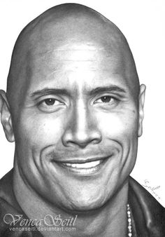 Dwayne Johnson by ~VencaSeitl on deviantART