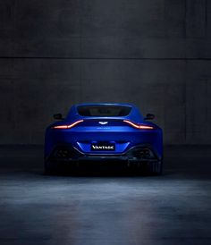 #cars #blue #photography ✔️ Aston Martin Cars, Aston Martin Lagonda, Aston Martin Vantage, Luxury Car Brands, Aesthetic Colors, Touring, Health Care, Automobile, Blue