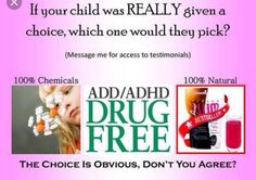 I have a child with ADHD! Plexus has changed our life! Ask me how today!