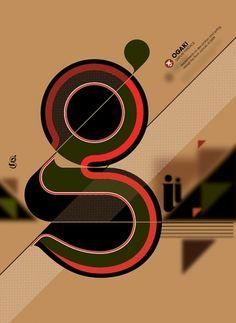 Designspiration — Ogaki typeface on the Behance Network