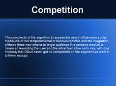 Target Audience, Behavior, Competition, Advertising, Social Media, Sayings, Behance, Lyrics, Social Networks