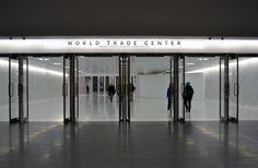 WTC Transportation hub entry