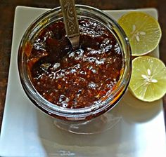 Your Everyday Cook: SWEET SPICY LEMON PICKLE