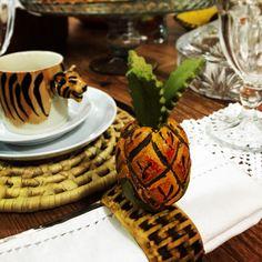 mesa posta mesa linda mesa com amor porta guardanapo abacaxi feito por mim chicara tigre porque todo dia é especial