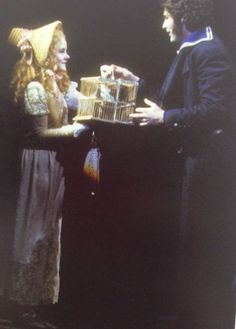 Sarah Rice & Victor Garber as Johanna and Anthony in the original production of Sweeney Todd.