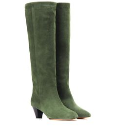 ISABEL MARANT Étoile Robby Suede Knee-High Boots. #isabelmarant #shoes #current week