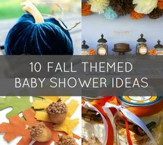 10 Fab Ideas for a Fall Themed Baby Shower | Disney Baby