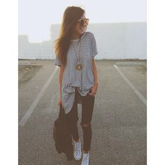 Abbey Road Sunglasses and We The Free Circle In The Sand Tee styled by ivanarevic on FP Me