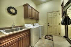Laundry room.  Grayhawk, Scottsdale Arizona