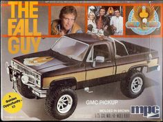 Image archive of toys, games and other treats from the & mixed with a bit of the & for good measure. Fall Guy Truck, The Fall Guy, Weird Toys, Gmc Pickup, Cartoon Toys, Sci Fi Horror, Childhood Toys, Plastic Model Kits, Classic Tv