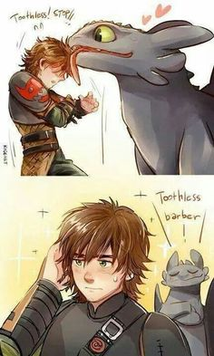 Toothless barber