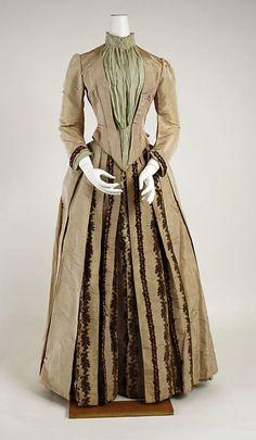 Dress, 1880-1885, The Metropolitan Museum of Art