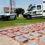 Corrientes Ciudad: Lo detuvieron cuando llevaba al Chaco 127 kilos de marihuana