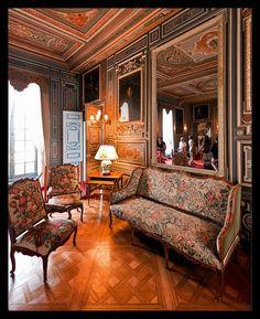 chateau de cheverny interior images   Château de Cheverny - Interior