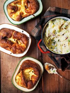 The sausages in this recipe are baked with mustard and honey before making into individual toad-in-the-holes.