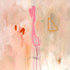 Large abstract print pink coral, large abstract painting giclee print, pink pastel abstract art, large abstract canvas art, pink and white Abstract Canvas Art, Pink Abstract, Abstract Print, Abstract Paintings, Original Artwork, Original Paintings, Coral, Collage, Giclee Print