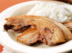 Bacon Liempo. This Pinoy version of bacon is equal parts salty, chewy, and garlicky.
