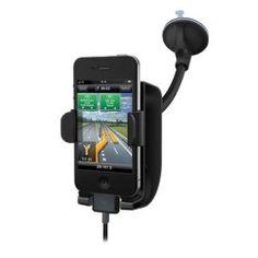 Kensington SoundWave Sound-Amplifying Car Mount--Compatible with iPhone 4 - Black from Kensington