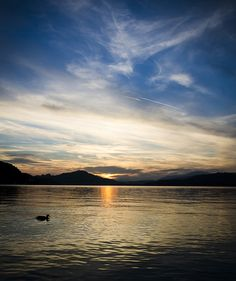 Sundowner #wörthersee #austria #holiday Town And Country, Sunrises, Austria, Places Ive Been, Landscapes, To Go, Places To Visit, Golf, Tropical