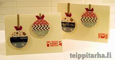 Joulukorttimalleja teippaillen, joulukortteja lasten kanssa, tee itse joulukortit, helpot joulukortit, teipatut joulukortit, washitape Christmas cards, glitter joulukortit, stanssipohja joulukortti