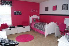 pink zebra room | zebra/pink room for my lil one - Girls' Room Designs - Decorating ...
