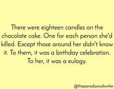 Eighteen candles.