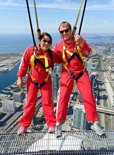 24 hours in Toronto | Things to do in Toronto | Weekend getaway in Toronto | Edge Walk Toronto | CN Tower, Toronto, ON