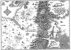 fantasy map deserts - Google Search