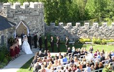 Elegant Castle Weddings | Have Your Wedding in a Castle | Castle Farms Castle Weddings in Michigan