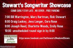 SoundOff: #NashvilleSingerSongwriterFriends #Nashville #NashvilleMusic Commodore Grille Nashville lineup June 21 2014