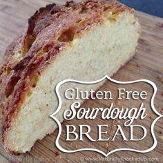 Gluten free sourdough bread, artisan style