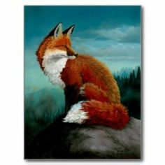 japanese paintings of red foxes | Red Fox T Shirts, Red Fox Gifts, Art, Posters, and more