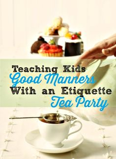 Teaching Kids Manners {George Washington Style}