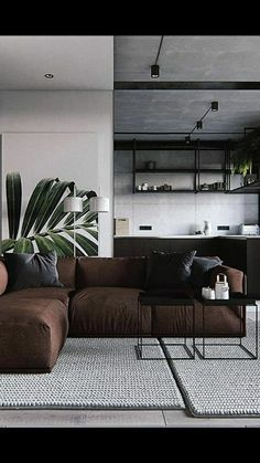 Casual Living Rooms, Simple Living Room, Cozy Living Rooms, Living Room Modern, Living Room Interior, Home Living Room, Living Room Decor, Bedroom Decor, Home Room Design