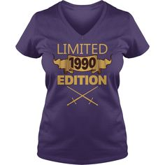 Limited 1990 Edition T Shirt Funny Birthday Gifts 27 Years Old #gift #ideas #Popular #Everything #Videos #Shop #Animals #pets #Architecture #Art #Cars #motorcycles #Celebrities #DIY #crafts #Design #Education #Entertainment #Food #drink #Gardening #Geek #Hair #beauty #Health #fitness #History #Holidays #events #Home decor #Humor #Illustrations #posters #Kids #parenting #Men #Outdoors #Photography #Products #Quotes #Science #nature #Sports #Tattoos #Technology #Travel #Weddings #Women
