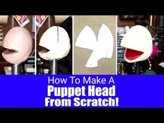 How To Make A Puppet Head Pattern From Scratch! - Puppet Building 101 - YouTube
