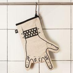Rock Ofenhandschuhe von We love rock design auf DaWanda.com