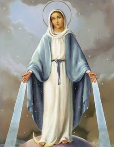 """""""Men do not fear a powerful hostile army as the powers of hell fear the name and protection of Mary."""" --St. Bonaventure LivingInFaith75.com"""