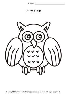 image detail for easy and simple coloring pages for early childhood kids to color many - Simple Colouring Pictures