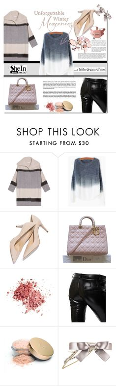 """Shein contest"" by e-mina-87 ❤ liked on Polyvore featuring Vince, Christian Dior, Avon, Love Quotes Scarves, Each X Other, Jane Iredale, Chanel, women's clothing, women's fashion and women"